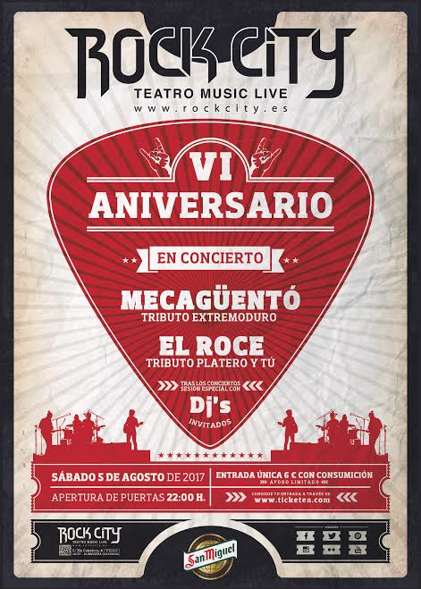 rock city aniversario
